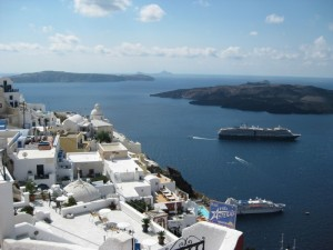 Santorini by Chellie
